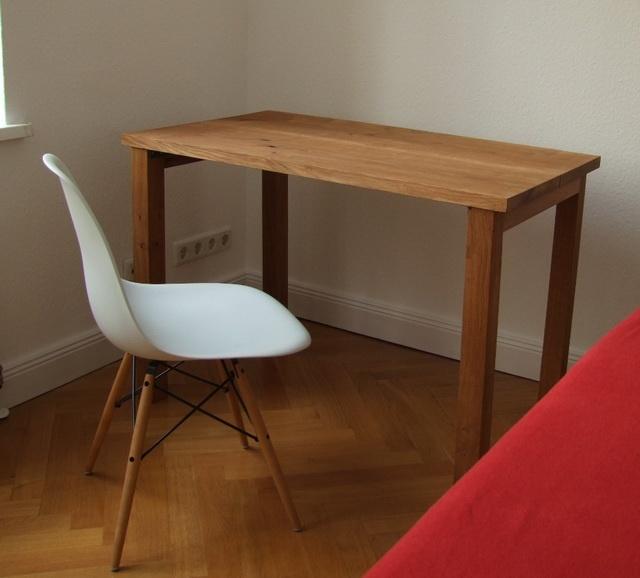 Doppelkopf massivholztisch designerm bel for Design massivholztisch