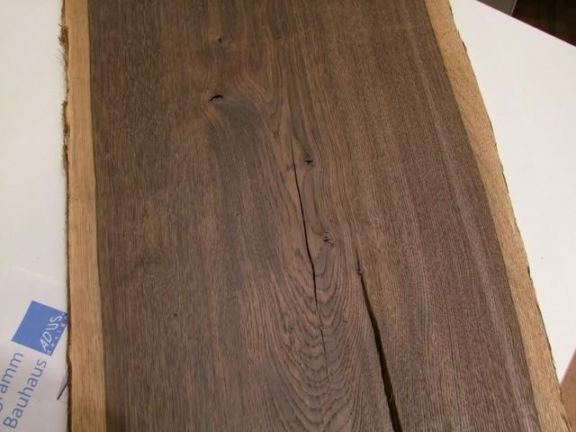 Tisch Eiche Geräuchert eisenhauer massivholztisch in eiche massiv auf tischgestell adus